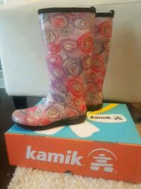 Brand New Kamik Rainboots- Size 8 Kitchener, N2M 0A2