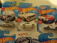 six Hot Wheels cars diecast models Woonsocket, 02895