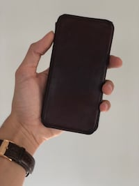 Leather iPhone case / wallet Montreal, H2L 1L8