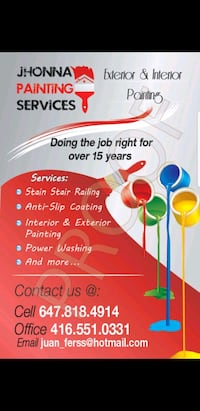 Professional painter offers my services Toronto