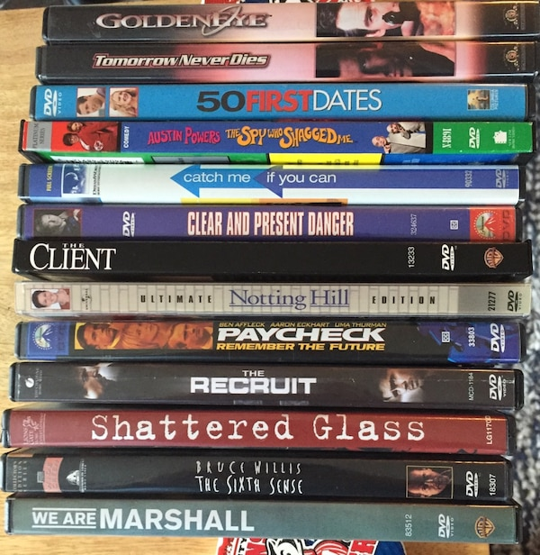 DVDs for sale - cheap! $4