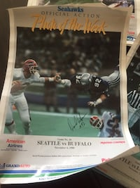 12 1988 Seahawks Posters Seattle, 98168