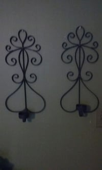 Wrought Iron Candle Holders  Augusta, 30906