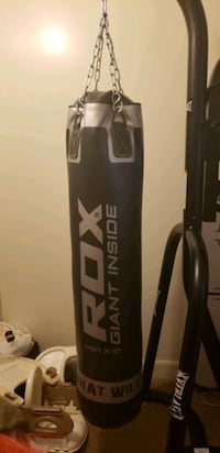 Everlast punching bag set with rdx punching bag Paterson