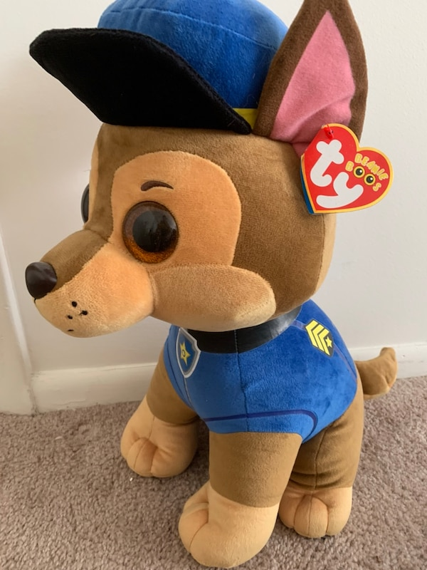 Large Paw Patrol Chase Beanie Baby