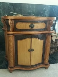 brown wooden 2-door cabinet Fullerton, 92835