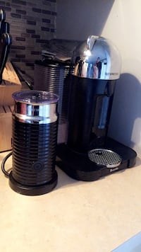 NEGOTIABLE!!Virtuoline Nespresso with frother 800 km