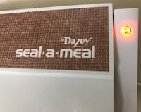 VINTAGE 1976 DAZEY SEAL-A-MEAL MODEL SAM 1 WITH EXTRAS IN ORIGINAL opened BOX New Carrollton, 20706
