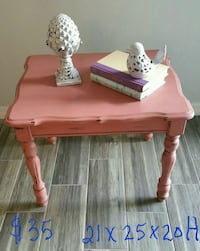 Pink side table Maitland, 32751