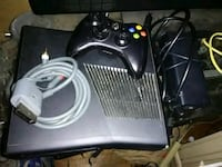 black Xbox 360 console with controller Charles Town, 25414