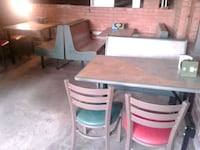 Restaurant bench and chairs in excellent condition Charlotte, 28208
