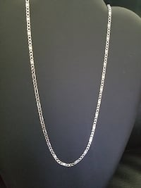Brand New Sterling Silver Custom Figaro Chain 3733 km