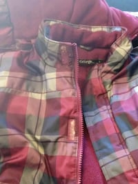 pink, green, and white plaid textile Châteauguay, J6K 3G8