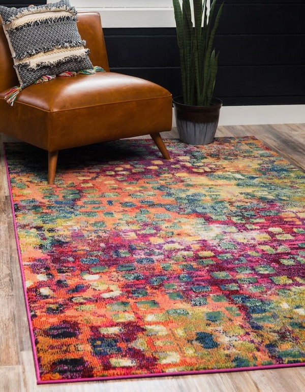 Massaoud Multi-coloured Area Rug 5' by 8' 3a333143-41a9-4b16-9eb1-4e6b1ed73059