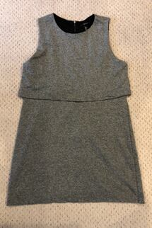 Grey dress large