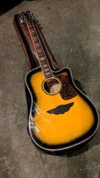 Keith Urban acoustic guitar Ghent, 12075