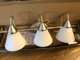 Wall mount light fixtures (2 of them)