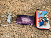 Nintendo 3DS XL w/ charger and case