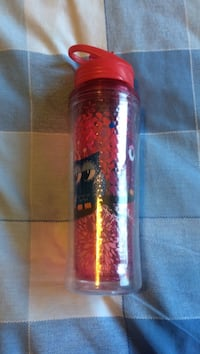 Plastic Water Bottle with Owl Design