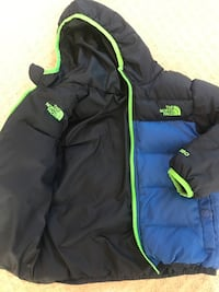 North face Reversible Boy 4T Winter Jacket Sterling, 20165