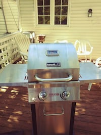Nexgrill 2 burner for sale. Includes cover and gas