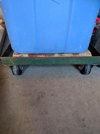 "Flatbed Trolley (Frame with Wheels), 20""X14"", used Toronto"