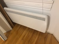 4 electric heaters available