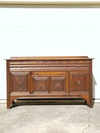 Solid wood buffet/ server/ sideboard with dovetail