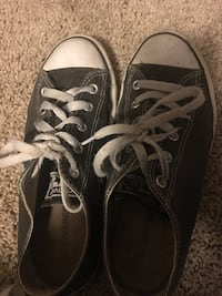 Black and white converse Abbotsford, V2T 7Y3