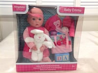 Brand new never been used ,baby Emma with puppy ,clothes and etc ... Hamilton, L8V 4K6