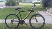 black and red hardtail mountain bike Regina, S4S 2A3