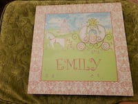 Print on canvas Princess Emily