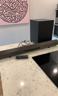 Sony Soundbar with Remote and Subwoofer Vancouver, V6J 4X8