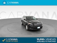 2014 Jeep Cherokee suv Latitude Sport Utility 4D Black Brentwood