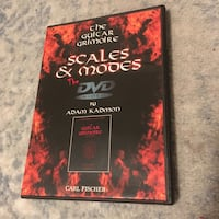 Guitar Grimoire Modes and Scales instructional DVd Vancouver, V5K 1Z8