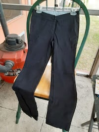 BLACK PANTS SIZE 1 BY ZINC TWO BACK POCKETS AND 2 FAKE FRONT POCKETS