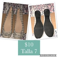 Women's black and white flats  El Paso, 79928
