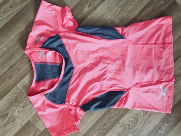 48080e344b2 Used pink and black zip-up hoodie for sale in London - letgo