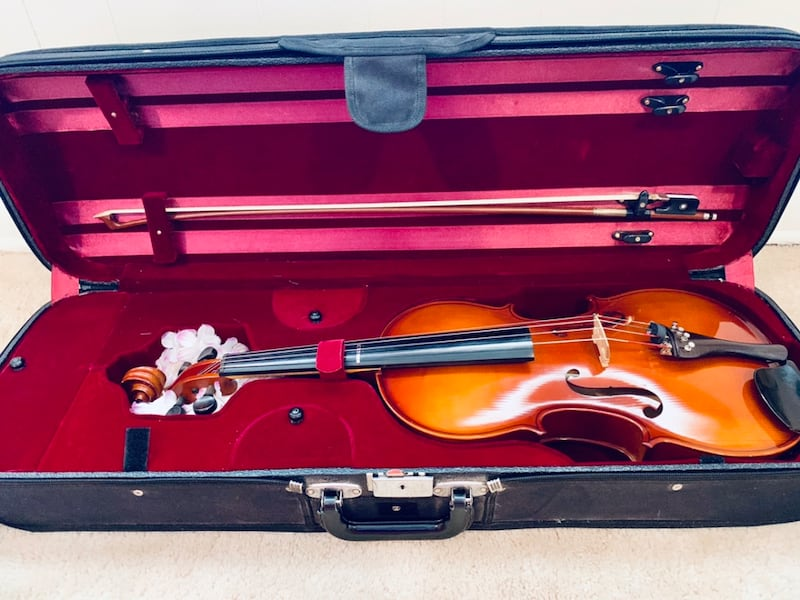 "Viola 4/4, 16.5"" with luxury case 0"