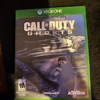 Call of duty ghost for Xbox one Gaithersburg, 20877