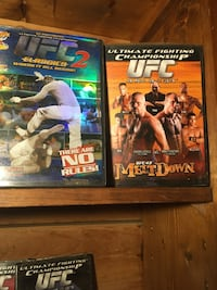 UFC and other sports dvds Concord, 28025