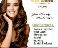 QUEEN Beauty Salon (WOMEN ONLY)  2580 Shepard Ave, Mississauga, L5A 4E1
