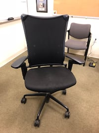 Black office task chair Menands, 12204