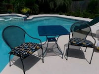 Patio table with two chairs and cushions Jacksonville, 32258