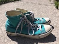 Teal Converse All Stars Calgary, T2C 0W7