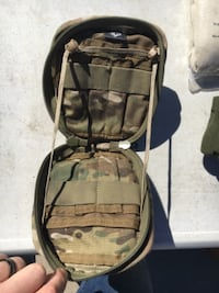 Multipurpose Molle utility pouch null