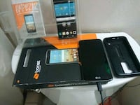 Boost Mobile lg tribute 5 with a case protector
