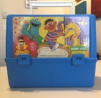 Vintage Sesame Street Thermos Lunch Box 1989 Lachine, H8S 3R2