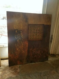 brown and black abstract painting Phoenix, 85015