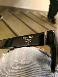 black and gray framed prada sunglasses Edmonton, T5J 4Y8